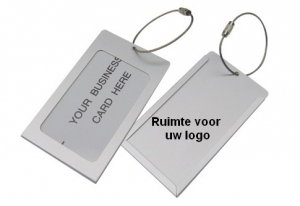 Bagagelabel - Business card formaat